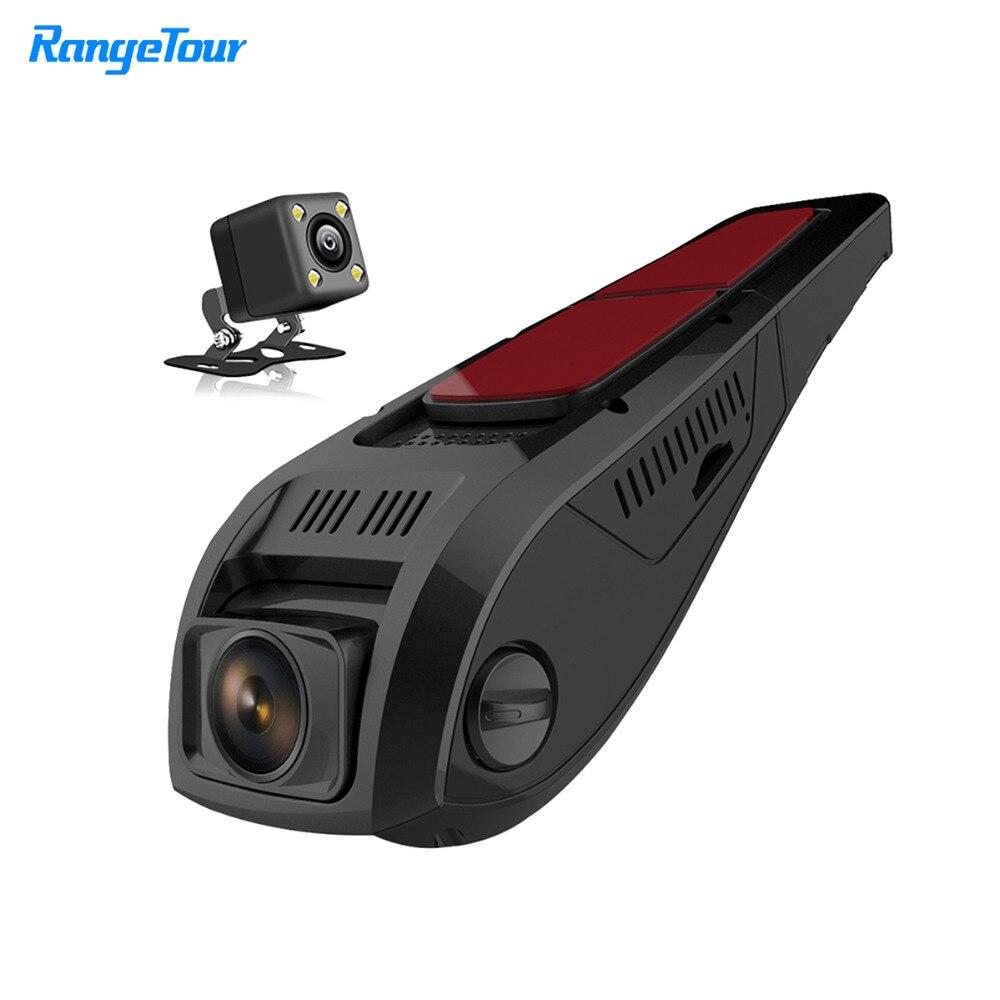 все цены на Range Tour Hidden Mini Car DVR Video Camera Recorder F5 Plus Full HD 1080P Dashcam 170 Degree + 4 LED Night Vision Rear Dash Cam онлайн