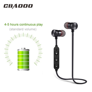 Image 3 - CBAOOO Bluetooth Earphone Wireless Headset Sport Magnetic Waterproof Hifi Bass with Microphone for android iphone xiaomi