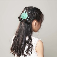 Shiny Crystal Rhinestones Girl Hairpins Barrettes Flower Rabbit Shape Hair Clips Hairstyle Design Styling Accessories