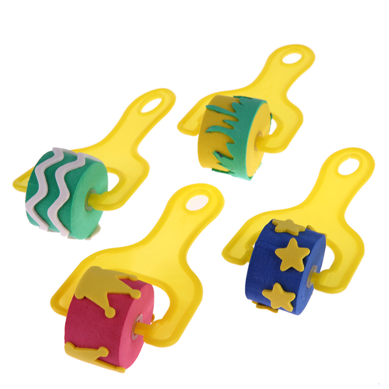 4PcsLot-Fun-Sponge-Kids-Painting-Brushes-Graffiti-Paint-Training-Toy-Plastic-Handle-Seal-Sponge-Drawing-Brush-Educational-Toy-5