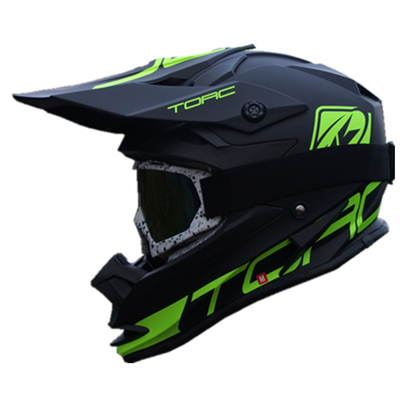 цена на TORC T32 Motocross helmet dirtbike ATV motorcycle helmets off road moto racing helmet M L XL ECE approved Matt black