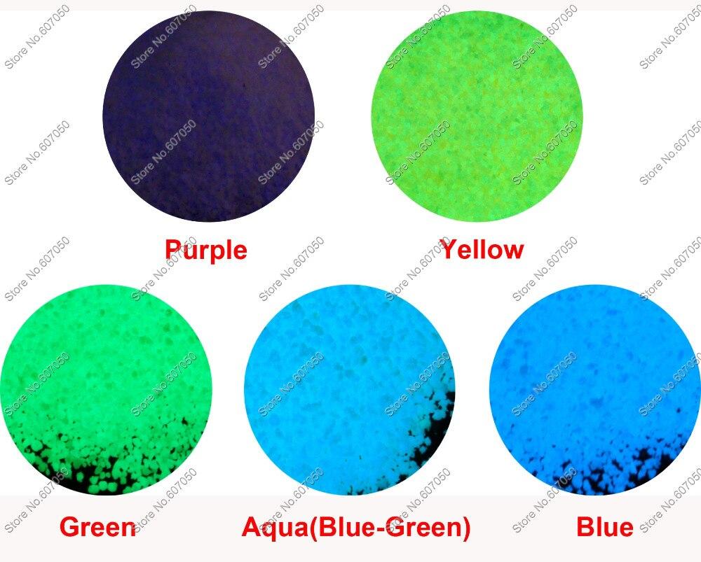 Aliexpress.com : Buy 50gram=(Mixed 5 Colors) Luminous Sand