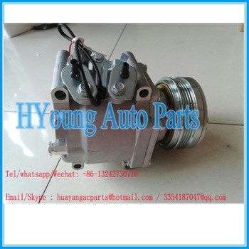 High quality a/c compressor model TRS090 for HONDA CIVIC 1.4/1.6 38800-P2F-A000-M2 38800-P06-A000-M1 38810-P2F-A01 38810-P76-016