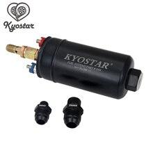 044 משאבת דלק KYOSTAR EFI 380 LPH E85 חיצוני משאבת דלק 1000 hp תואם דלק משאבת עם 10 בלתי 8 התאמה