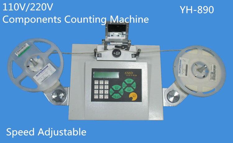 1 PCS 110V / 220V Automatic SMD Parts Counter Components Counting Machine|machine machine|machine automatic|machine component - title=