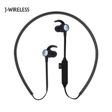 J-WIRELESS Bluetooth headphones Sports Magnetic Earphone Spuer Bass Stereo Wireless Headphone Earbuds for iPhone Huawei xiaomi