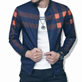 2016 New Bomber Jacket Fashion Men Baseball Jacket Print Sleeve Casual Coats Veste Homme Jaqueta Masculina