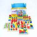Детские Игрушки Монтессори Сенсорные Игрушки 1 лот = 14 шт. Дошкольное Образование Дошкольное Обучение Детей Игрушки Brinquedos Juguetes