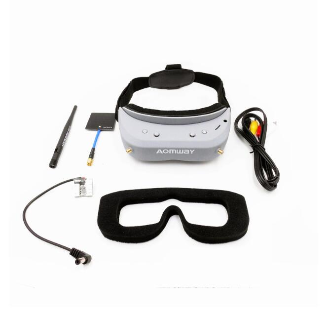 shipping by DHL or EMS Aomway Commander Goggles V1 2D 3D 40CH 5.8G FPV Video Headset Support HDMI DVR Headtracker dhl ems 2 sets 1pc new pepperl fuchs nbn8 18gm80 e2 v1