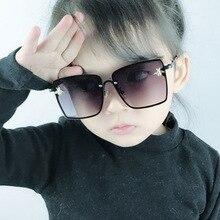 Oversized Square Bee Boys Sunglasses Fashion Parent-Child Ki