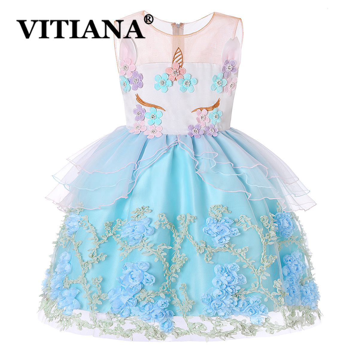 easter unicorn party dress summer 2019 for girls toddler