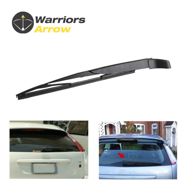 For Ford Focus Mk2 2004 2005 2006 2007 2008 2009 2010 2017 Pair Car New Rear Rain Window Windshield Wiper Arm Blade