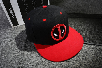 Anime Deadpool Embroidery Snapback 1