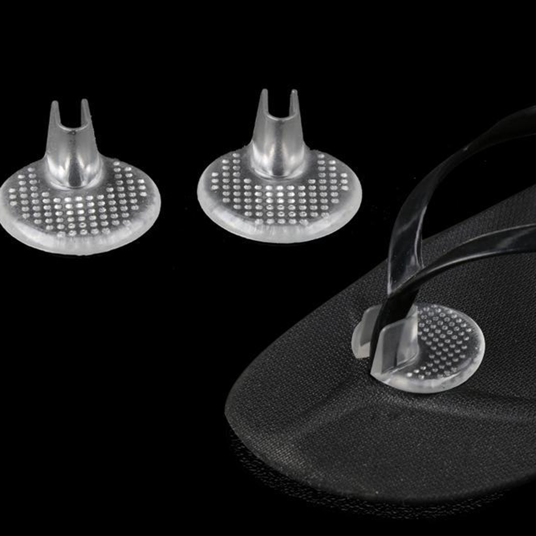 Hot-Gel Inserts Cushions Flip Flop Sandal Insoles 1 Pair
