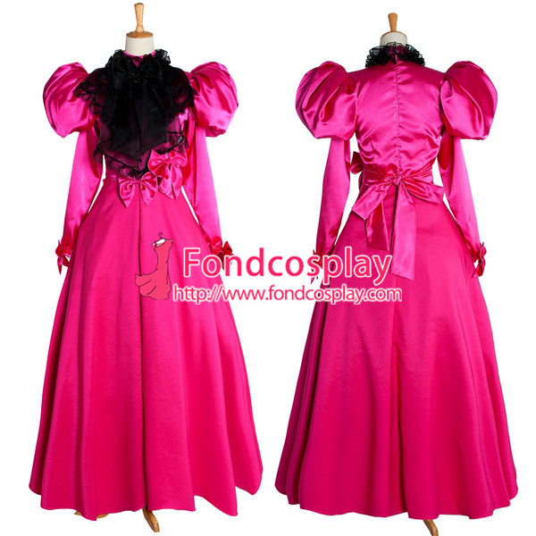 Gothic Evening Medieval Victorian Gown Ball Dress Cosplay Costume Custom made[G1006]