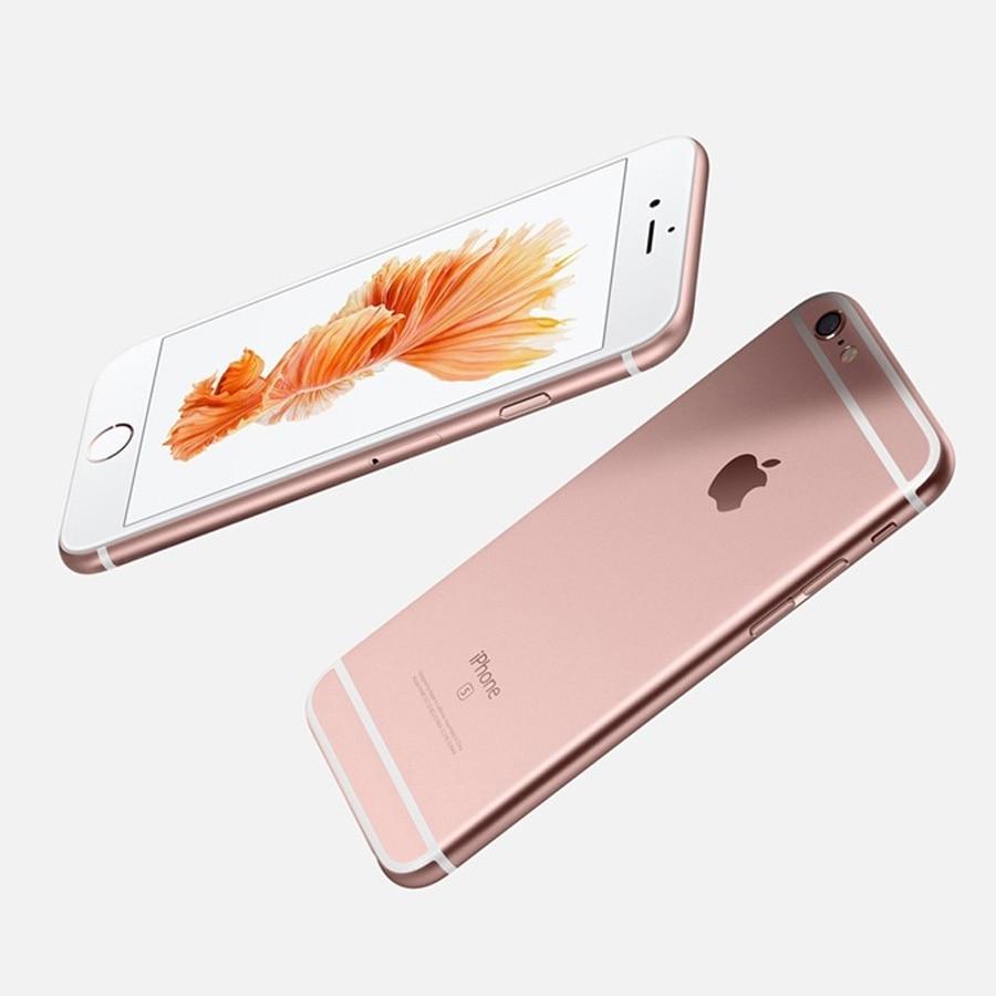 "Image 4 - Original Apple iPhone 6s RAM 2GB 16GB ROM 64GB 128GB 4.7"" iOS Dual Core 12.0MP Camera fingerprint 4G LTE Unlocked Mobile Phone6s-in Cellphones from Cellphones & Telecommunications"