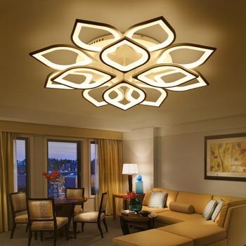 New Acrylic Modern Led ceiling Chandelier lights For Living Room Bedroom Home Dec lampara de techo led moderna Fixture