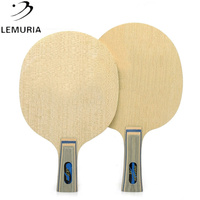 Lemuria VIS 5 layers wood and 2 layers carbon fiber table tennis blade table tennis racket for Table Tennis Amateurs Playing