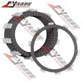 Free Shipping For Honda STEED 400 Steed 600 high quality motorcycle clutch discs plates  ( 5 large 1 small )