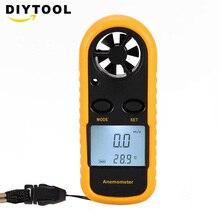 GM816 Цифровой датчик скорости ветра с подсветкой, измеритель воздушного потока, анемометр, термометр, шкала скорости ветра, анти-борьба