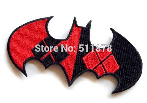 4 Batman harley quinn argyle logo mask TV Moive Series dc comics Uniform punk rockabilly men