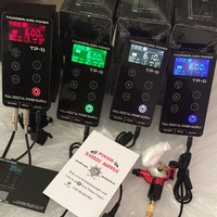 FKS Tattoo Supplies Hurricane Power Supply Upgrade Touch Screen TP 5 Intelligent Digital LCD Makeup Dual Tattoo Power Supply