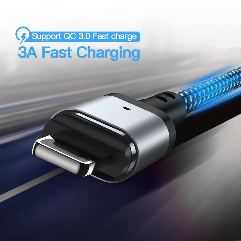 Suntaiho magnetic usb charging cable for iphone cable micro usb-c charger adapter magnetic charger for lighting cable usb type-c