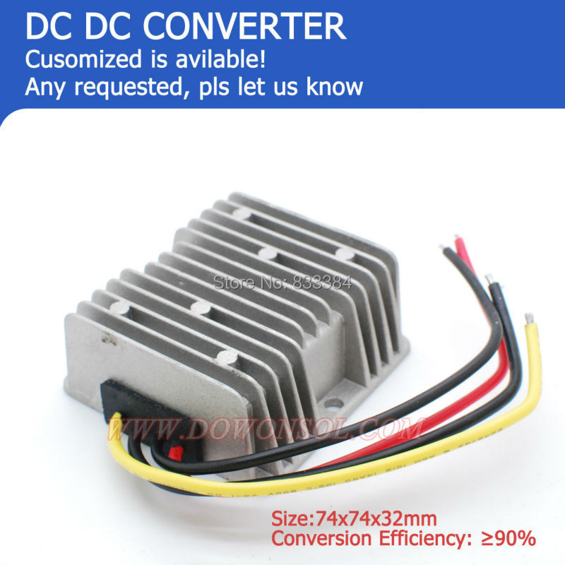 цена на DC-DC Boost Buck module 24V to 36V 3A 144Wmax  power supply converter for golf cart