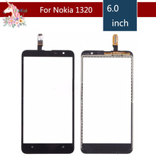6.0 For Nokia Lumia 1320 N1320 LCD Touch Screen Digitizer Sensor Outer Glass Lens Panel Replacement 3 5 for nokia n8 n 8 lcd touch screen digitizer sensor outer glass lens panel replacement