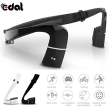 EDAL Wireless Bluetooth 4.1 Headset Bone Conduction Ear-phones Sports Outdoor Hands Free with Mic For Running