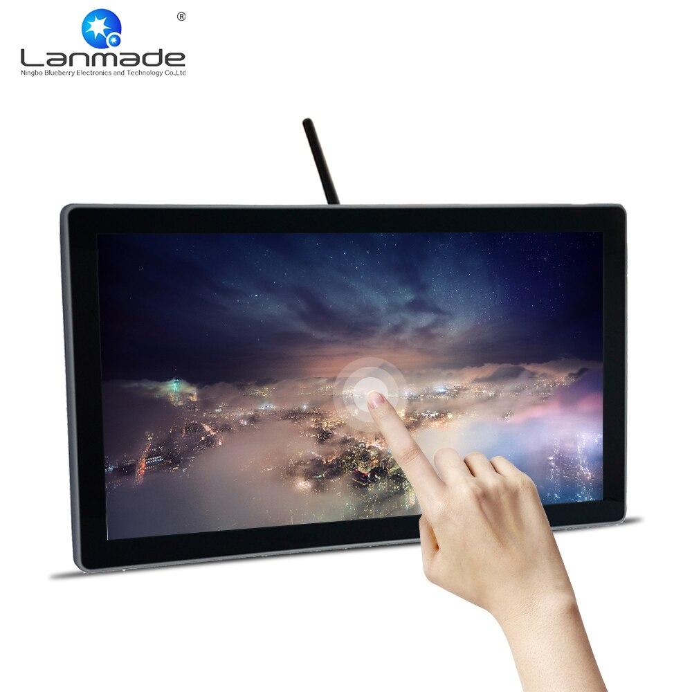 Lanmade Usb 3.0 Lcd Touchscreen Monitor Mit Gebaut In Computer Auto Kopie Display Touch Screen Wifi Modul Led Digital Signage Mit Einem LangjäHrigen Ruf Bildschirme