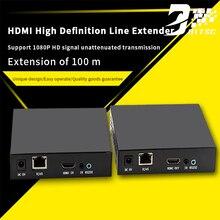 SZBITC 1080 P HD HDMI Extender 100 m sobre TCP Cat5e/6 Cabo HDMI Ethernet Transmissor e Receptor Para multimídia de Computador TV