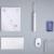 Xiaomi soocare x3 soocas inteligente bluetooth inalámbrico cargo impermeable acústica wavetooth sonic cepillo de dientes a través de control de smartphone