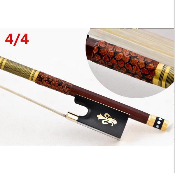 High quality violin bow size 4 4 violino brazilwood wood Bow font b Horse b font