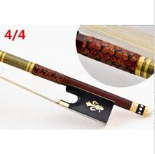High quality violin bow size 4/4 violino brazilwood wood Bow Horse hair violin accessory bow accessories para violino