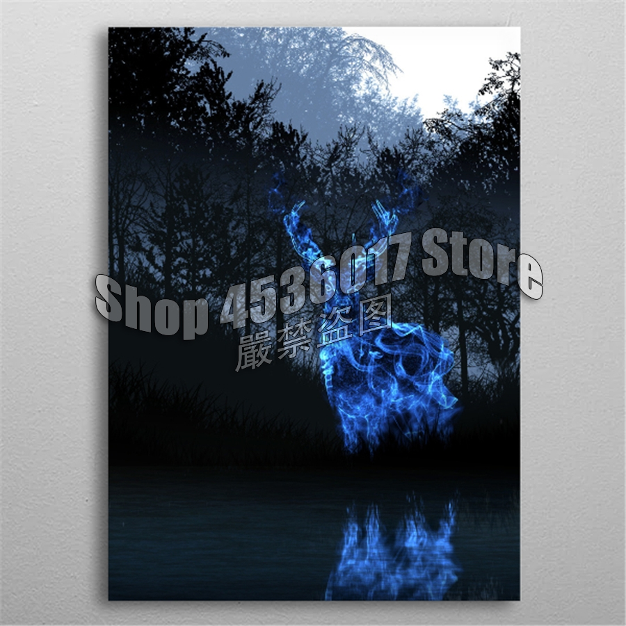 Us 78 40 Off5d Diy Diamond Painting Cross Stitch Patronus Harry Potter Embroidery Full Square Diamond Mosaic Gifts Handmade Craft Picture In