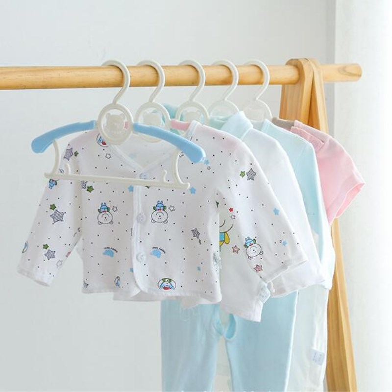 1pc Magic Multi-Functional  Adjustable Plastic Baby Hangers Clothes Hanger Rack Children Kids Adult Clothing Drying Rack