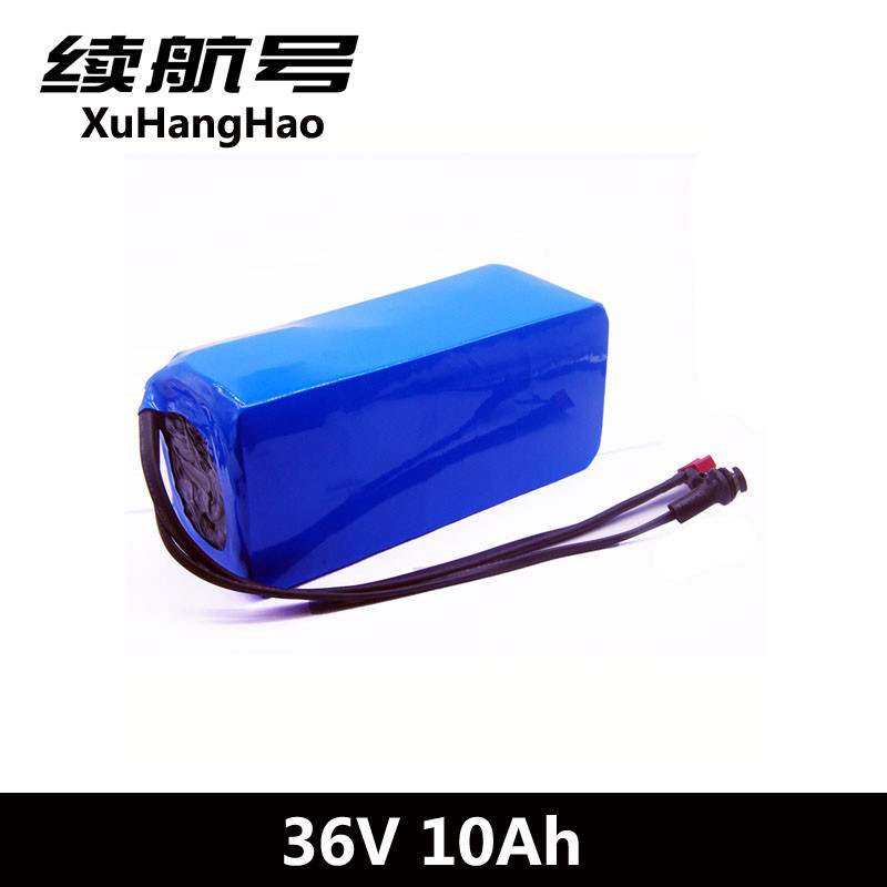 XuHangHao 36V 10AH Bike Electric Car Battery Scooter High capacity Include Bms 10ah Lithium Battery Pack Scooter Ebike
