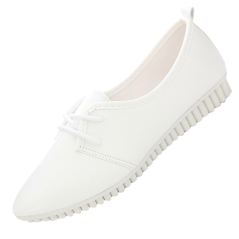 VSEN vintage women flat shoes white US4=EUR35=length 22.5CM imc vintage women flat shoes white us4 eur35 length 22 5cm
