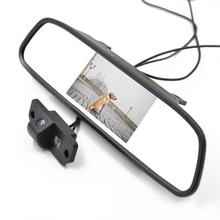 4.3 дюймов вид сзади автомобиля монитор с Заднего вида Парковочная Камера для Ford Focus Mondeo