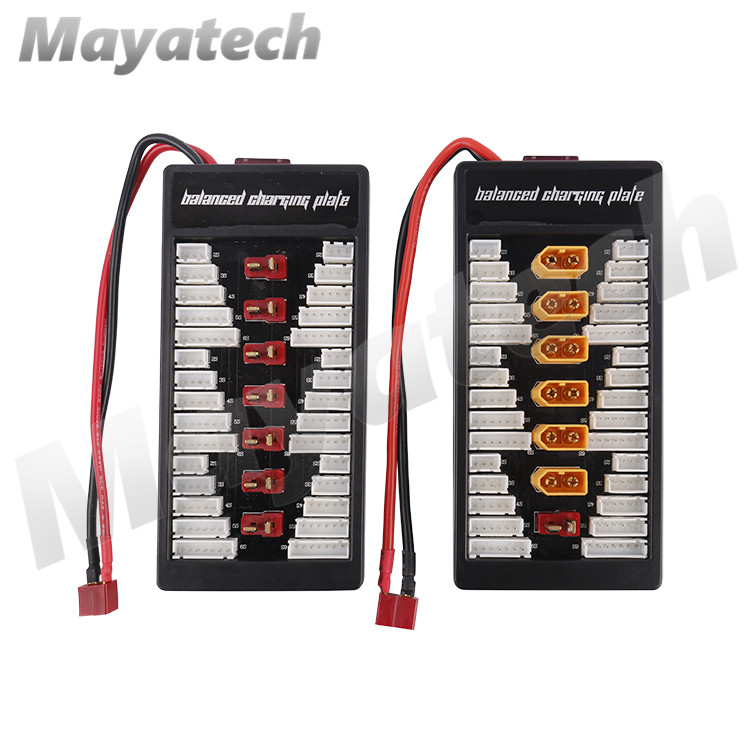 High Quality 2S-6S Lipo Battery Parallel Charging Board Charger Plate T Plug XT60 Plug for Imax B6 B6AC B8 6 in 1 image