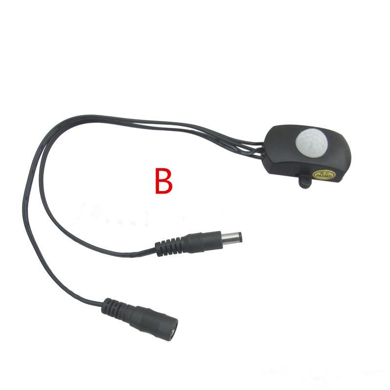 Mini senzor 5V 12V 24V LED traka Koristite senzor Night Light Pir - LED Rasvjeta