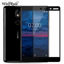 2pcs Screen Protector For Nokia 7 Plus Glass Tempered sFor Full Cover Nokia7 Protective Film