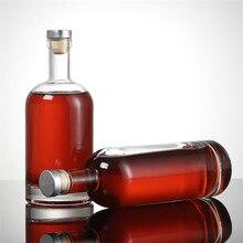 XMT-HOME высокого качества для вина бутылки пустые алкогольные ликеры стеклянные бутылки вина контейнер 1 шт