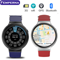 "Femperna I4 Smart Watch Android 5.1 1.39 ""дисплей 3 Г Wi-Fi GPS 512 МБ/8 ГБ Bluetooth SmartWatch Часы Телефон для iOS Android Phone"