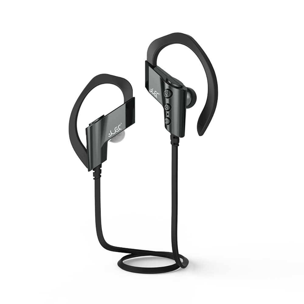 VOBERRY Bluetooth Headset Bluetooth Earphone Hands-free Wireless Bluetooth Sweatproof Sport Gym Headphone Earpiece For Xiaomi image