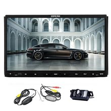 Wireless backup camera included Car Stereo DVD CD Player Radio with GPS Navigation built-in Bluetooth Mic SD USB IPOD RDS AUX Au