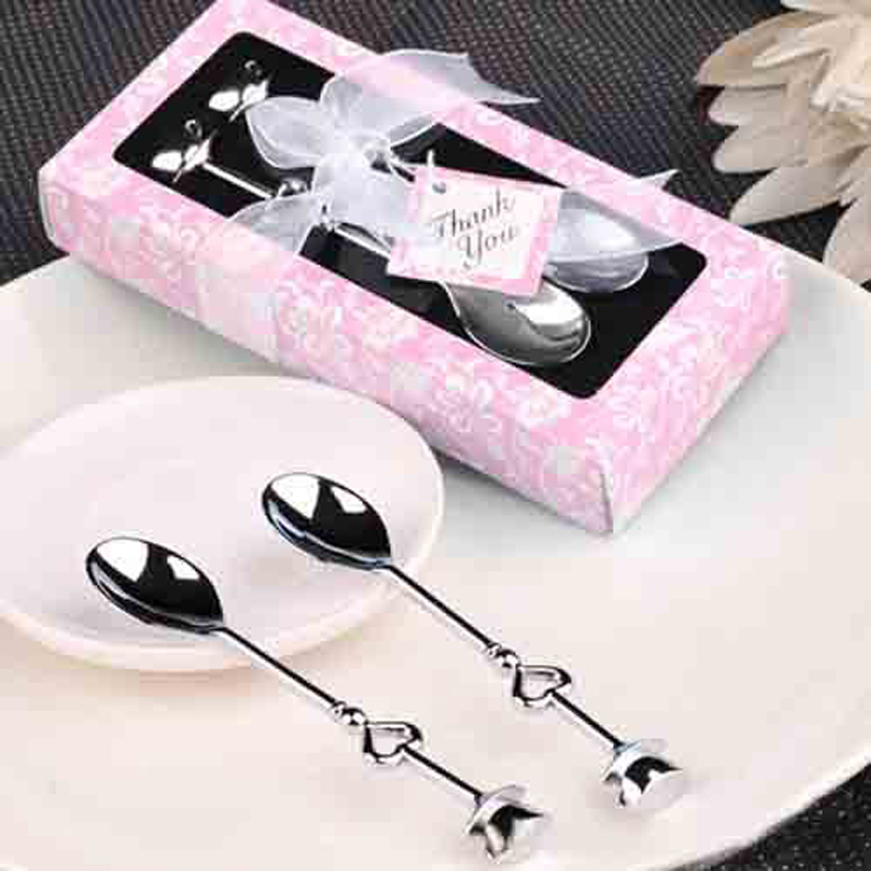 Wedding Supplies High Quality Coffee Spoon Birthday Party Favor Gift Stainless Steel Cutlery Household Utensils In Favors From Home Garden On
