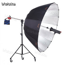 1.8M Soft Umbrella Photographic Flexo shed reflective umbrella flexible photography umbrella shooting CD50 T01(China)