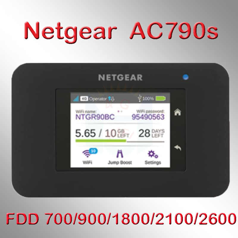 Router netgear aircard 790 ac790s cat6 300 mbps router wifi sim 4g lte pocket router wifi portatile wifi 4g